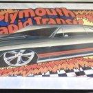 """Cool Tin Art Metal Car Sign Size: 16 1/2"""" Wide X 11"""" Long #CTAMC6"""