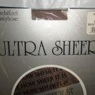 "Coffee Medium (5' 3"" - 5' 8""  125-145 Lbs) Ultra Sheer Pantyhose 3 Pair #400945"