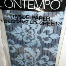 "Contempo Tissue Paper / Gift Wrap 8 Sheets 20"" X 26"" 28.8 Sq. Ft. #C2601-MT"