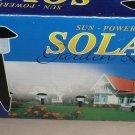 Garden Sun Sun Powered Solar Black Garden Light GL98 Set 2 UPC: 875518001821