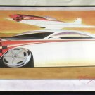 "Cool Tin Art Metal Car Sign Size: 16 1/2"" Wide X 11"" Long #CTAMC10"