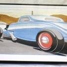 """Cool Tin Art Metal Car Sign Size: 16 1/2"""" Wide X 11"""" Long #CTAMC14"""