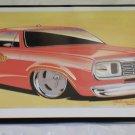 """Cool Tin Art Metal Car Sign Size: 16 1/2"""" Wide X 11"""" Long #CTAMC15"""