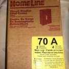 Square D By Schneider Homeline Indoor 70A Circuit Breaker Load Center #HOM24L70F
