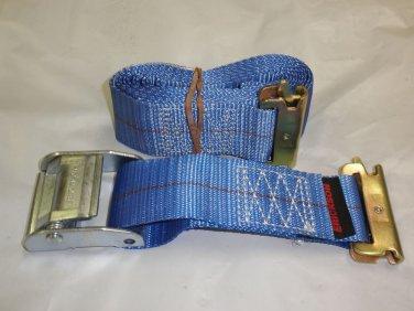 """Erickson 2"""" X 10' 2000 Lb. Load Capacity Cam Lock E-Track Strap Tie Down #59151"""