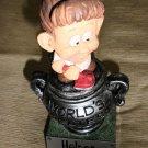 W.A.C World's Greatest Helper - Girl Vacuuming #WG034 UPC:831774000299