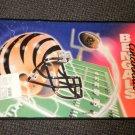 """National Mat NFL Cincinnati Bengals Indoor / Outdoor Sports Mat Size: 17"""" X 26"""""""
