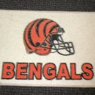 "Cincinnati Bengals Football Helmet Rug - Cream  Size: 17"" Wide X 27"" Long"