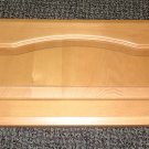 "Teak Raised Panel Solid Wood Cabinet Door Size: 10"" Wide X 20"" Long X 3/4"" Thick"