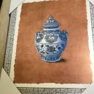 """TSD Ceramic Vase 16"""" X 13"""" Wood Wall Picture / Plaque #052758855401"""