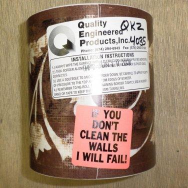 "Q.E.P, Inc. RV QKZ4035 Self Adhesive Wall Border Tape 5 3/4"" X 150'"