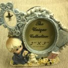 """SFI Religious Little Boy Praying 2"""" X 3"""" Resin Photo Frame #FR235BMC"""