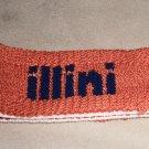 "Illinois ""Illini"" Orange Sweat Band  OSFM"