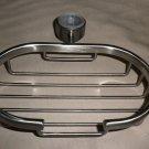 Dura Satin Nickel Shower Bar Soap & Shampoo Basket #554-SN