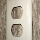 Hubbell / Wirecon Ivory Snap-On Receptacle Wall Plate #WPRUIV / #691990101923