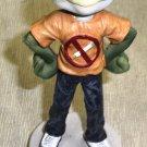 "Jenkins Enterprises Hippie Frog "" Please Don't Smoke I May Croak"" figurine #5083"