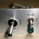 "Flood / Spot Light 2-Way Switch / 4-Way Switch     ^ v On 4"" X 2 1/2"" Panel"
