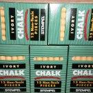 Stempel Yellow Dustless Non-Toxic Chalk 5 Boxes / 12 Pieces Each #14907