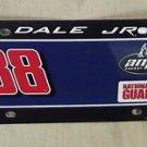 Hendrick Motorsports Plastic Nascar Dale Jr. #88 License Plate