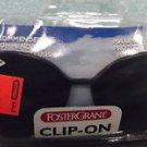 Foster Grant Clip On Sunglasses With Free Storage Case#7063119/#7183119