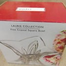 Studio Crystal Laurie Collection Fine Crystal Square Bowl #62768 UPC:67897662768
