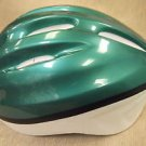 Pro Rider Unisex Green / White Bicycle Helmet  UPC:710534477505