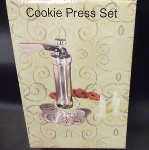IBS LLC 25 Piece Cookie Press Set #5749