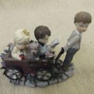 "Cast Art ""The Best Of Friends"" Figurine #05503 UPC:751584055039"