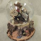 "Westland Giftware ""Cowboy / Happy Trails"" Waterglobe UPC:748787120015"