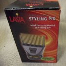 Lava Tech Professional Styling Pik For Straightening & Lifting #LT-1505