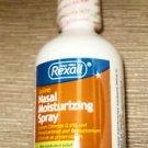 Rexall Saline Nasal Moisturizing Spray 1.5 Oz. UPC:370030659128
