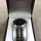 Embassy Men's Genuine Diamond Two Tone Quartz Watch #0047251962 UPC:049353817316