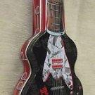 The Tin Box Co. Coca-Cola Guitar Shaped Tin UPC:078678661038