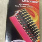 Lava Tech Professional Styling Brush Attachment W/ Thermal Ceramic Coating #LT-8