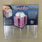 MMI Natural Science Industries Beauti fills Fillable Home Decor Tissue Box #6105
