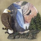 """Hamilton Collection Wings Of Freedom """"Noble Watch"""" Framed Plate #022287"""
