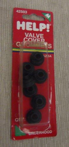 Motormite / Help! Mazda Valve Cover Grommets 7 Pieces #42503 UPC: 037495425032