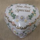 "Westland Giftware You're Special"" Heart Shaped Musicbox #4076 UPC:748787040764"