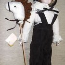 """Brinn's 13 1/2"""" ME And My Little Pony Porcelain Doll With Doll Stand #123148"""