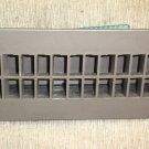 "B&B Molders Plastic Tan Floor Register With Damper Size: 2 1/4"" X 9 7/8"" X 1 1/8"