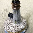 Lefton's Petite Ft. Niagara Lighthouse Treasure Box #12317 UPC:093501123170