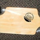 Prodyne Cheese Paddle Cutting Board With Wire Cheese Slicer #12539