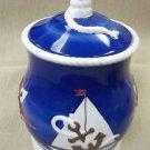 Lefton's By The Sea Nautica Cookie Jar #CTM12170 UPC:093501121701
