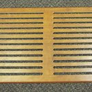 "Robert Weed Dark Wood Grain 20"" X 10"" Wood Return Air Grill UPC:710534474641"