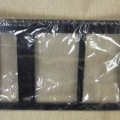 Dorman Black Plastic License Plate Frame #705-315