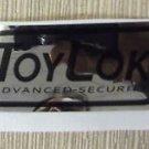 "RV Safety Decal ""ToyLok Advanced Security"" UPC:710534473958"