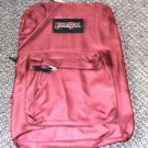 "Sportpak Unlimited Burgundy Backpack Size: 16.75"" X 12.75"" X 6.25"" #2509-62134E"
