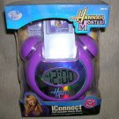 Disney Hannah Montana iConnect Mp3 Speaker Alarm Clock #HMCLPK78A UPC:6889556216