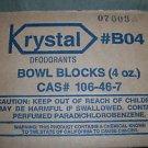 Krystal Deodorant Bowl Blocks 4 Oz. Box Of 12 #B04 / 106-46-7
