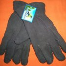 Polar Ice Gray Fleece Fashion Winter Gloves  One Size  UPC:7105344787017